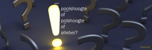 Poolshoogte of polshoogte
